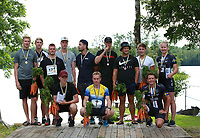 2019-07-20 | Hensmåla, Sweden:Tingsrydskommun : We are the winners at Hensmåla Triathlon Tingsrydskommun ( Photo by: Eva-Lena Ramberg )<br />