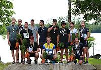 2019-07-20 | Hensmåla, Sweden:Tingsrydskommun : We are the winners at Hensmåla Triathlon Tingsrydskommun ( Photo by: Eva-Lena Ramberg )<br /> <br /> Keywords: Tingsrydskommun, Hensmåla, Triathlon, Hensmåla Triathlon, Triathlon, Hensmåla