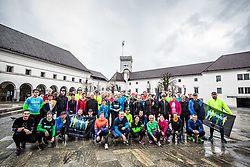Priprave na Ljubljanski maraton 2018, on March 31, 2018 in  Ljubljana's Castle, Ljubljana, Slovenia. Photo by Vid Ponikvar / Sportida
