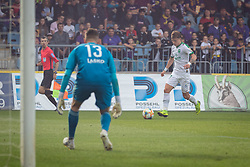 Kenan Pirić of Maribor during football match between NK Maribor and Olimpija Ljubljana in 32nd Round of Prva liga Telekom Slovenije 2018/19, on May 11, 2019 in Ljudski Vrt, Maribor, Slovenia. Photo by Blaž Weindorfer / Sportida