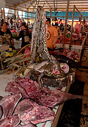 Inside Tomohon extreme market, north Sulawesi, Indonesia.