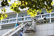 Feuerwehrübung in Ludwigshafen