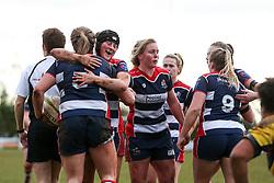 Sarah Bern of Bristol Ladies scores a try - Rogan Thomson/JMP - 15/01/2017 - RUGBY UNION - Cleve RFC - Bristol, England - Bristol Ladies Rugby v Richmond WRFC - RFU Women's Premiership.