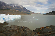 The Gray Glacier in Torres Del Paine National Park, Jan. 19, 2004. Daniel Beltra/Greenpeace.