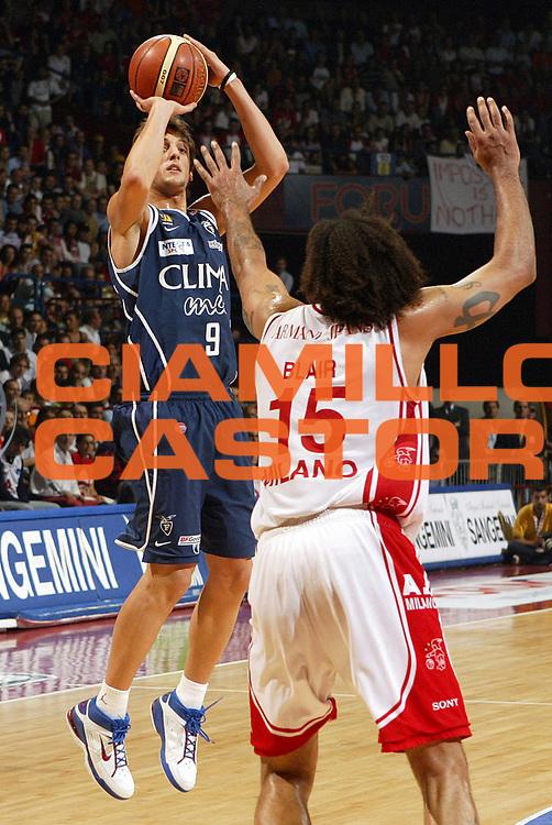 DESCRIZIONE : MILANO CAMPIONATO LEGA A1 2004-2005<br /> GIOCATORE : BELINELLI<br /> SQUADRA : CLIMAMIO BOLOGNA<br /> EVENTO : CAMPIONATO LEGA A1 2004-2005 PLAYOFF FINALE GARA 4<br /> GARA : ARMANI JEANS MILANO-CLIMAMIO BOLOGNA<br /> DATA : 16/06/2005<br /> CATEGORIA : <br /> SPORT : Pallacanestro<br /> AUTORE : Agenzia Ciamillo-Castoria/Elisa Pozzo