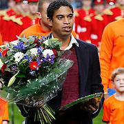 NLD/Amsterdam/20121114 - Vriendschappelijk duel Nederland - Duitsland, huldiging Michael Reiziger