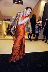 YASMIN LE BON at the 2008 British Fashion Awards held at the Lawrence Hall, Westminster, London on 25th November 2008.