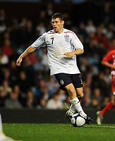Fotball<br /> England<br /> Foto: Fotosports/Digitalsport<br /> NORWAY ONLY<br /> <br /> Villa Park Birmingham England U21 v Wales U21  14/10/2008<br /> <br /> James Milner (England)