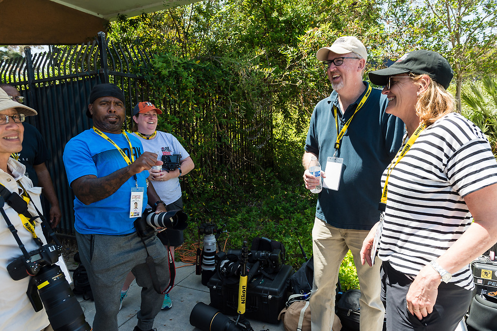 4/27/18:  Behind the scenes with the cast and crew of Sports Shooter Academy 15 in Orange County, California.  The Sports Shooter Academy Workshops are sponsored by Nikon Professional Services (www.nikonpro.com).  ©sportsshooteracademy