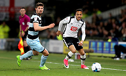 Marcus Olsson of Derby County passes the ball - Mandatory by-line: Robbie Stephenson/JMP - 31/03/2017 - FOOTBALL - iPro Stadium - Derby, England - Derby County v Queens Park Rangers - Sky Bet Championship