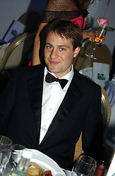 BEN GOLDSMITH at the Game Conservancy Jubilee Ball in aid of the Game Conservancy Trust held at The Hurlingham Club, London SW6 on 26th May 2005<br />