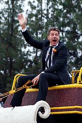 Television actor Ty Pennington, 2017 Tournament of Roses Parade, Rose Parade, Pasadena, California, United States of America