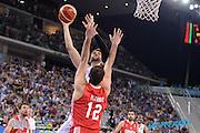 DESCRIZIONE: Torino FIBA Olympic Qualifying Tournament Italia - Croazia<br /> GIOCATORE: Andrea Bargnani<br /> CATEGORIA: Nazionale Italiana Italia Maschile Senior<br /> GARA: FIBA Olympic Qualifying Tournament Italia - Croazia<br /> DATA: 05/07/2016<br /> AUTORE: Agenzia Ciamillo-Castoria