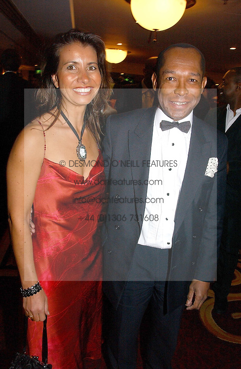 LORD TAYLOR OF WARWICK and NICOLE VETTISE at the 10th Anniversary Asian Business Awards 2006 at the London Grosvenor Hotel Park Lane, London on 19th April 2006.<br /><br />NON EXCLUSIVE - WORLD RIGHTS
