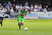 Forest Green Rovers Liam Noble (15) runs with the ball during the Vanarama National League match between Dover Athletic and Forest Green Rovers at Crabble Athletic Ground, Dover, United Kingdom on 10 September 2016. Photo by Shane Healey.