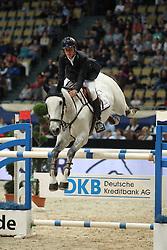 Marschall Marcel, (GER), Fenia van Klapscheut<br /> DKB-Riders Tour<br /> Grand Prix Kreditbank Jumping München 2015<br /> © Hippo Foto - Stefan Lafrentz
