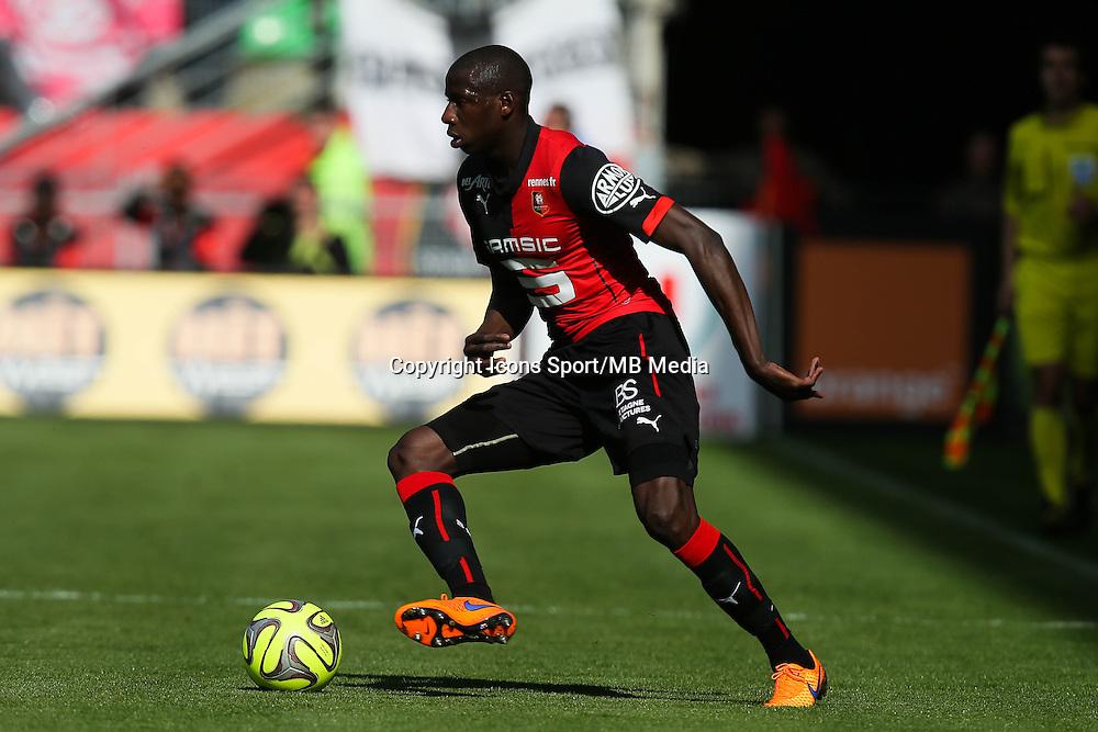Abdoulaye DOUCOURE - 12.04.2015 - Rennes / Guingamp - 32eme journee de Ligue 1 <br /> Photo : Vincent Michel / Icon Sport