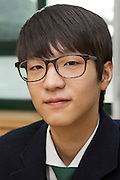 Hyunwoo Lee, student at the Shinil High School, Seoul, South Korea.