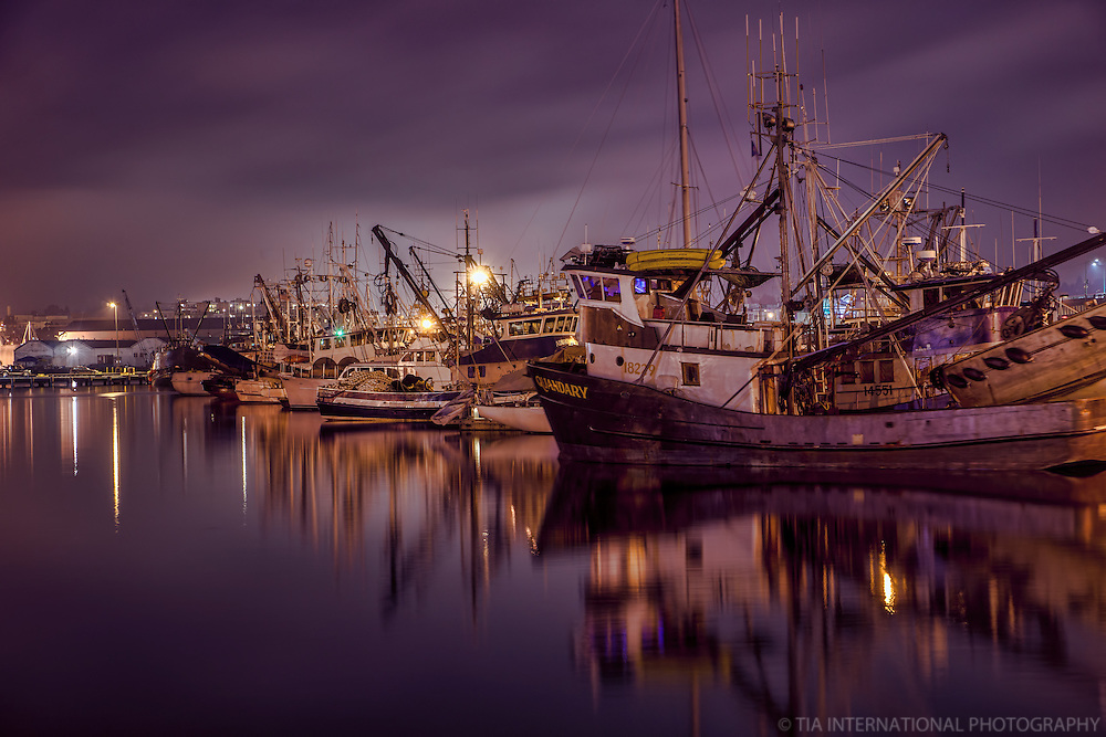 Fishermen's Terminal @ Night