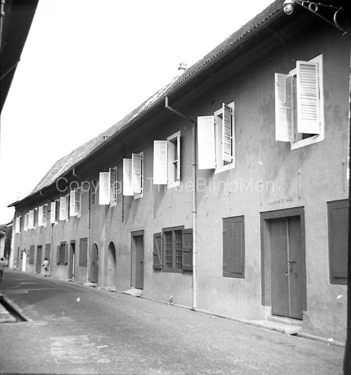 Ron Lewcock. <br /> VOC warehouses, Melaka.