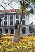 Manuel Espinosa Batista, fundador de la Republica.<br /> Casco Viejo es la ciudad mas Antigua de la Costa Pacifico de las Americas, y se encuentra al pie del Canal de Panamá en un lado y la Ciudad de Panamá del otro.La arquitectura es una combinación de ruinas desde los días de los Exploradores Españoles y Piratas, y Colonia Francesa del primer intento por construir el Canal de Panamá por los franceses.©Victoria Murillo/Istmophoto