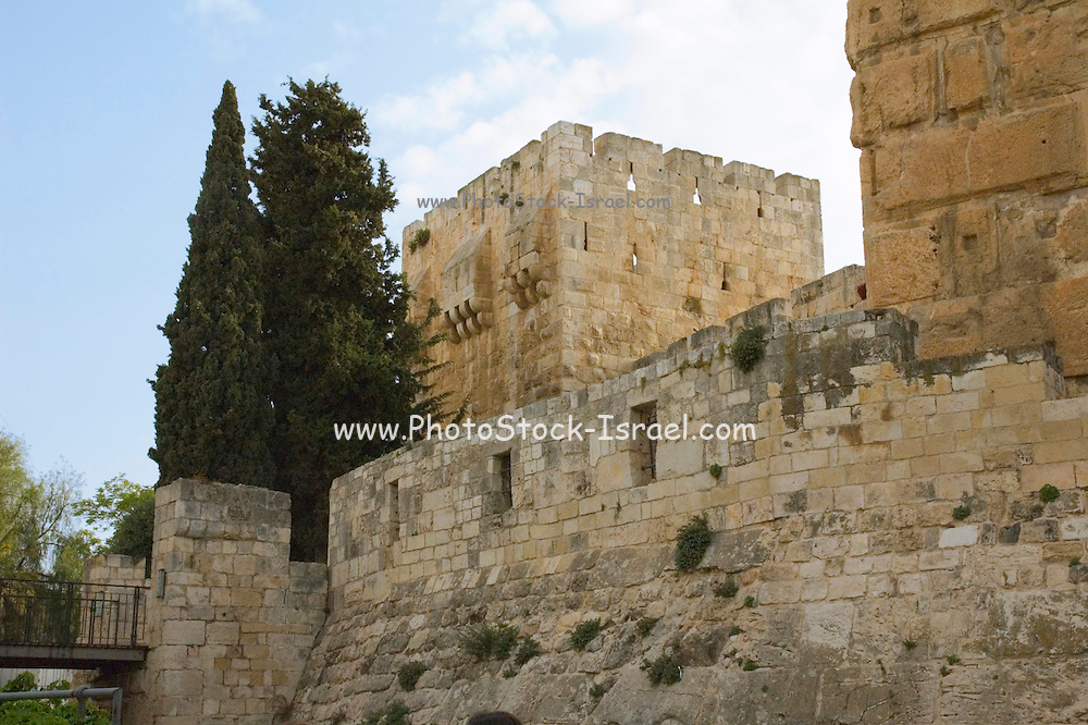 Israel, Jerusalem, Old city, Tower of David or David citadel
