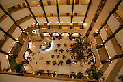 Hilton Al-Ain. The atrium.