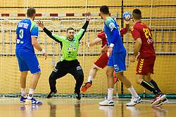 Ferlin Klemen of Slovenia during friendly handball match between national teams Slovenia and Montenegro on 4th Januar, 2020, Trbovlje, Slovenia. Photo By Grega Valancic / Sportida