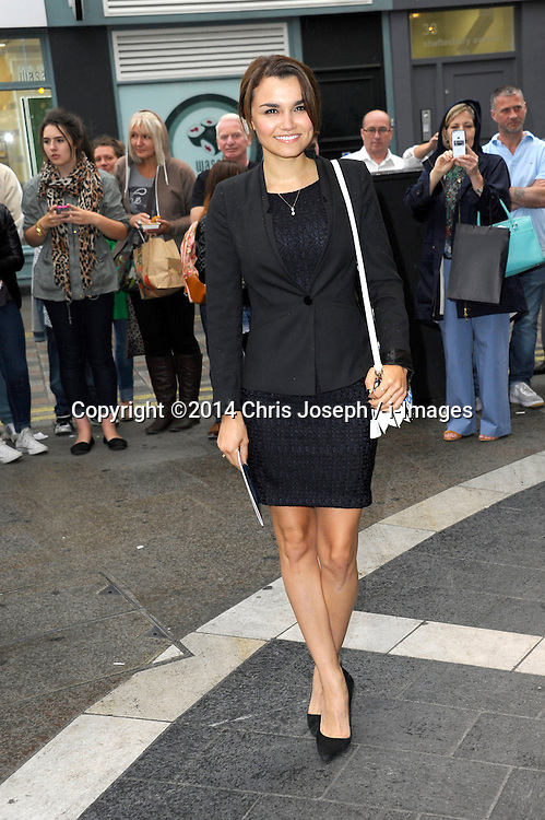 Image ©Licensed to i-Images Picture Agency. 08/07/2014. London, United Kingdom. Samantha Barks during the press night for 'The Curious Incident Of The Dog In The Night-Time' at Gielgud Theatre. Picture by Chris Joseph / i-Images