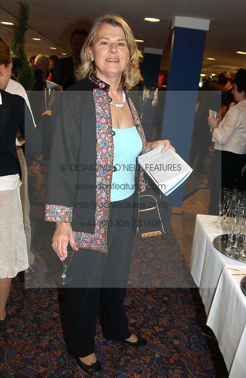 SUSAN FERGUSON step mother of Sarah, Duchess of York at a night of Greyhound Racing in aid of The Royal Marseden Cancer Campaign and The Trustees of the Head & Neck Cancer Reseach Trust held at Wimbledon Greyhound Stadium, Plouh Lane, London SW17 on 3rd May 2005.<br /><br />NON EXCLUSIVE - WORLD RIGHTS