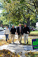 10/16/10 9:29:33 AM -- Springfield, PA<br />  -- Republican Congressional candidate Pat Meehan campaigns on the street October 16, 2010 in Springfield, Pennsylvania. Meehan faces incumbent Democrat Bryan Lentz in the Nov. 2 general election. --  Photo by William Thomas Cain/Cain Images