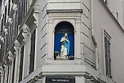 A Madonnelle or Little Madonna on Via Zucchelli in Rome.