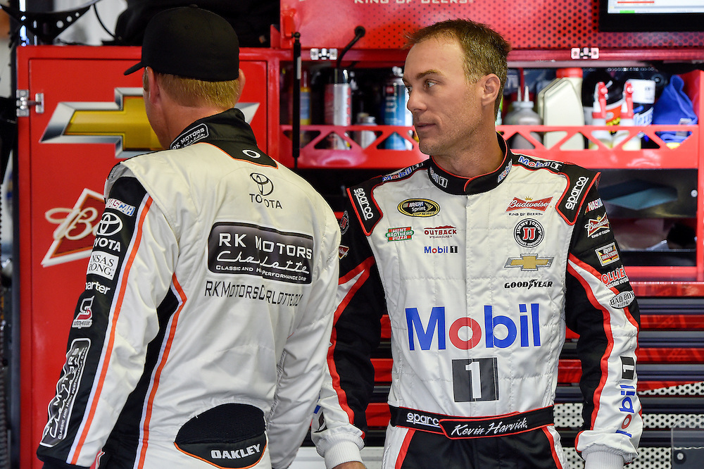 1-3 August, 2014, Long Pond, Pennsylvania USA<br /> Clint Bowyer, Kevin Harvick<br /> &copy;2014, Scott R LePage <br /> LAT Photo USA