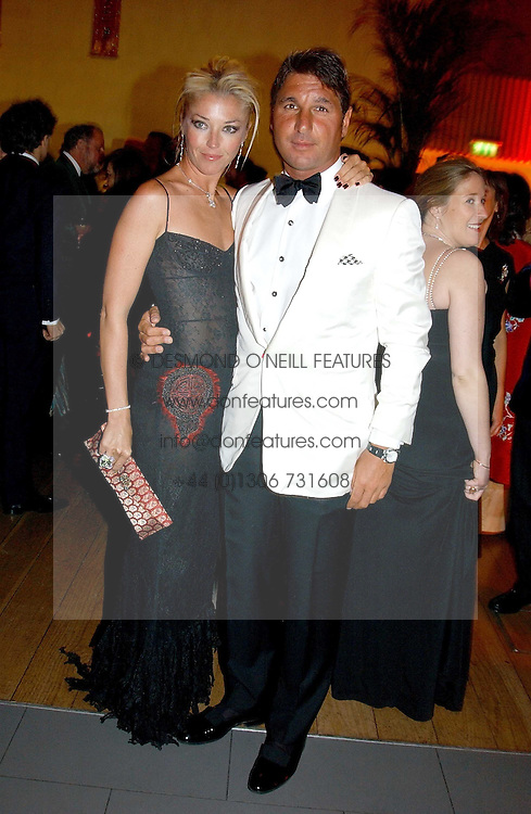MISS TAMARA BECKWITH and MR GEORGE VERONI  at Andy & Patti Wong's Chinese New Year party to celebrate the year of the Rooster held at the Great Eastern Hotel, Liverpool Street, London on 29th January 2005.  Guests were invited to dress in 1920's Shanghai fashion.<br /><br />NON EXCLUSIVE - WORLD RIGHTS
