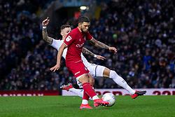 Nahki Wells of Bristol City has a shot on goal - Mandatory by-line: Daniel Chesterton/JMP - 15/02/2020 - FOOTBALL - Elland Road - Leeds, England - Leeds United v Bristol City - Sky Bet Championship