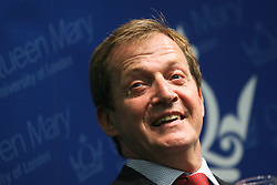 © Licensed to London News Pictures. 20/06/2012. London,Britain.Alastair Campbell launches today the fourth volume of his diaries, The Burden of Power: The Alastair Campbell Diaries at Queen Mary College, University of London.  Photo credit : Thomas Campean/LNP...