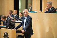 DEU, Deutschland, Germany, Berlin, 21.09.2018: Hessens Wirtschaftsminister Tarek Al-Wazir (Die Grünen) während einer Rede im Bundesrat.