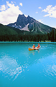 Canoe, Emerald Lake, Alberta, Canada