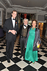 Left to right, ? and COUNT & CONTESSA FRANCESCO DA MOSTO at Brazil Now a gala ball in aid of the Red Cross held at the Grand Connaught Rooms, 61-65 Queen Street, London on 6th November 2012.