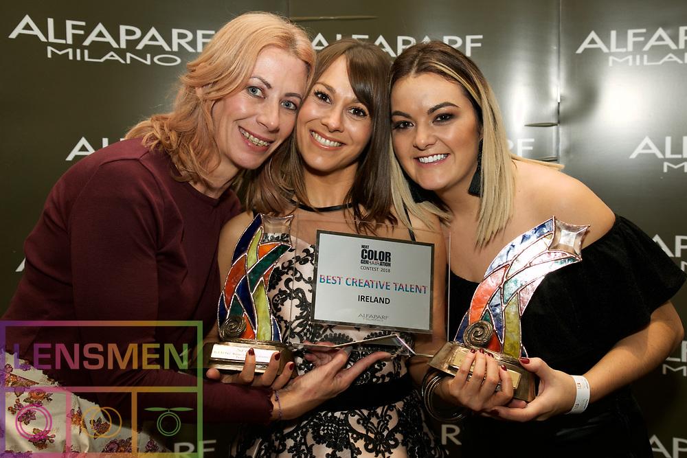 Noleen Devlin salon hi-tec omagh won 1st place in Inixia photography.<br />  <br />Rep Claire Dawson  <br /> Emma finlay salon couture omagh won 1st place in Fantastic Colourist