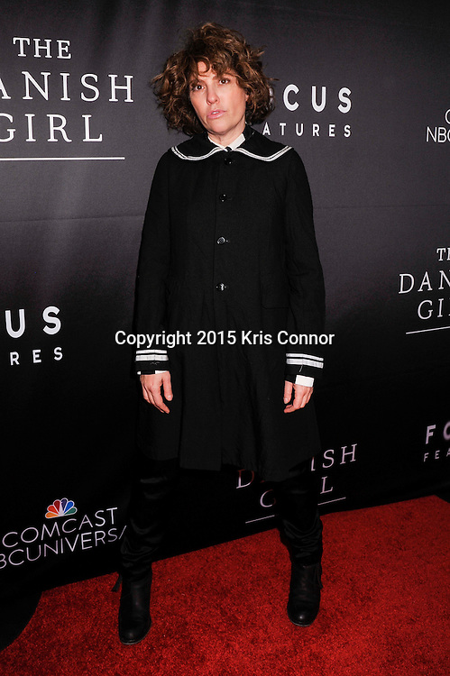 "Jill Soloway, creator, Transparent attends the DC premiere of Focus Features' ""THE DANISH GIRL"" at the United States Navy Memorial in Washington DC on November 23, 2015.  (Photo by Kris Connor for Focus Features)"