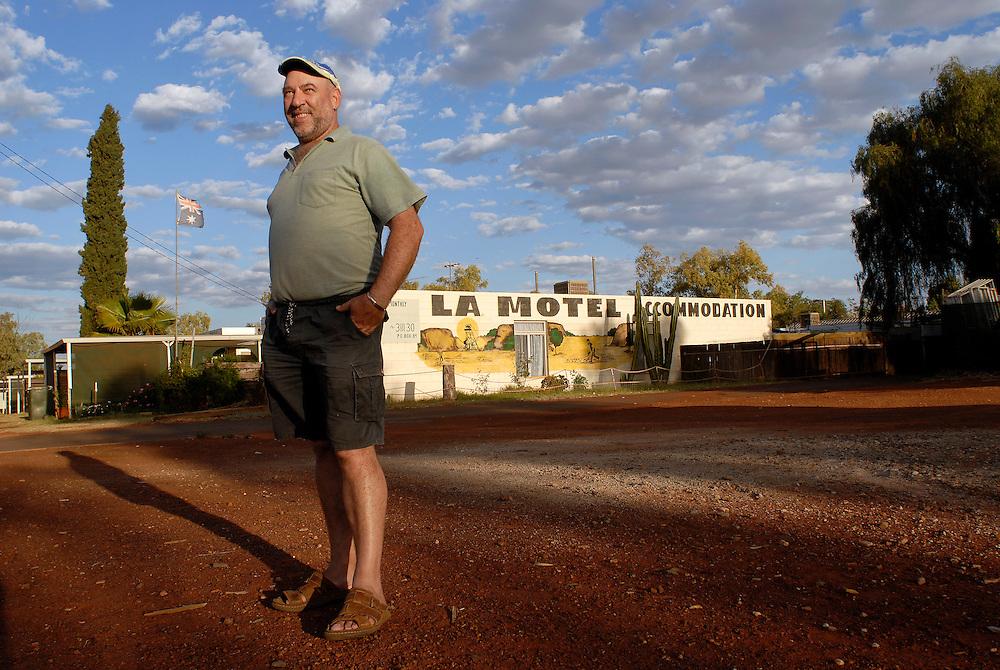 (Teflon) Sam Tomarchio LA Motel Laverton Western Australian Goldfields September 29 2006