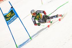 March 9, 2019 - Kranjska Gora, Kranjska Gora, Slovenia - Henrik Kristoffersen of Norway in action during Audi FIS Ski World Cup Vitranc on March 8, 2019 in Kranjska Gora, Slovenia. (Credit Image: © Rok Rakun/Pacific Press via ZUMA Wire)
