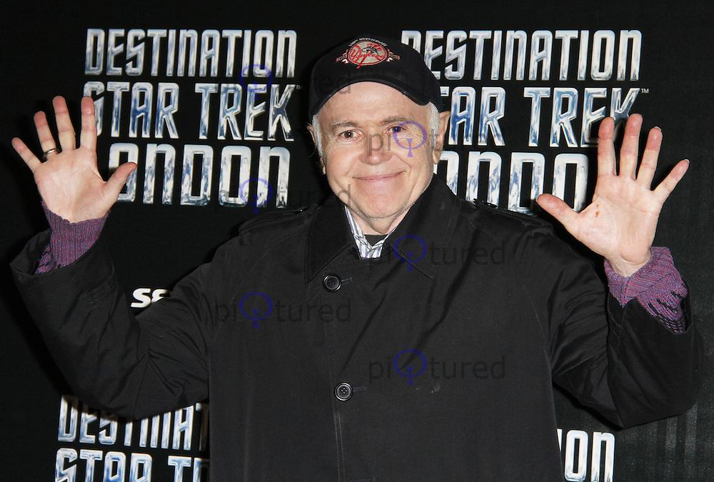 LONDON - OCTOBER 19: Walter Koenig; Ensign Pavel Chekov attended 'Destination Star Trek London' at the ExCel Centre London, UK, October 19, 2012. (Photo by Richard Goldschmidt)