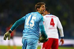 Football: Germany, 1. Bundesliga<br /> Goalkeeper Rene Adler (Hamburger SV, HSV)