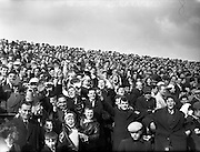 15/04/1962<br /> 04/15/1962<br /> 15 April 1962<br /> Soccer; Shamrock Rovers v Waterford, F.A.I. Cup Semi - Final at Dalymount Park, Dublin. A part of the enthusiastic crowd that attended the game.