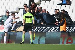 """Foto Filippo Rubin<br /> 08/04/2018 Cesena (Italia)<br /> Sport Calcio<br /> Cesena - Virtus Entella - Campionato di calcio Serie B ConTe.it 2017/2018 - Stadio """"Dino Manuzzi""""<br /> Nella foto: GOAL KUPISZ (CESENA)<br /> <br /> Photo by Filippo Rubin<br /> April 08, 2018 Cesena (Italy)<br /> Sport Soccer<br /> Cesena vs Virtus Entella - Italian Football Championship League B 2017/2018 - """"Dino Manuzzi"""" Stadium <br /> In the pic: GOAL KUPISZ (CESENA)"""
