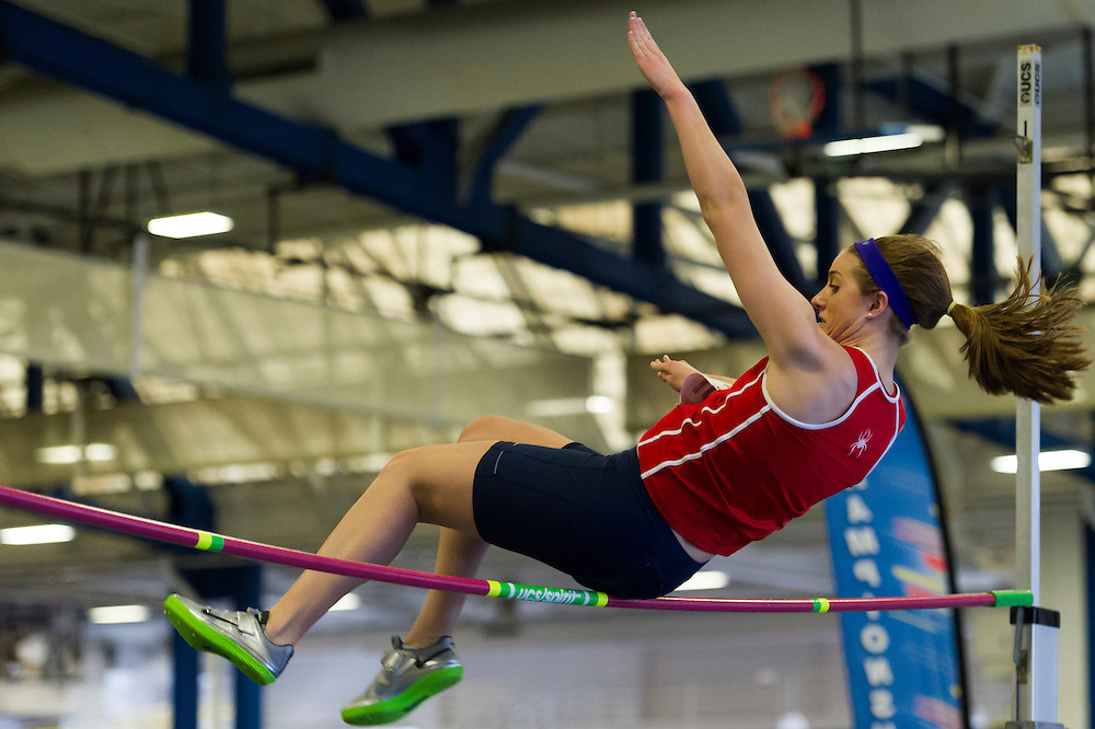 KINGSTON, RI - FEBRUARY 16: Atlantic 10 Indoor Track and Field Championships at the University of Rhode Island on February 16, 2013, in Kingston, Rhode Island. (Photo by Daniel Petty/Atlantic 10 Conference)