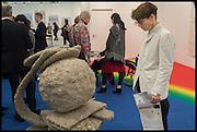 SOPHIE HICKS, Opening of Frieze art Fair. London. 14 October 2014