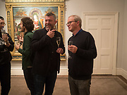 ADAM GAHLIN; HARRY ENFIELD, , , Keith Coventry crack pipes exhibition , .Dickinson, 58 Jermyn Street, London 6-8 pm. London November  1  2017.